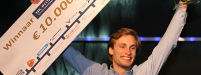 Jouri Schoemaker wint NK Pitchen