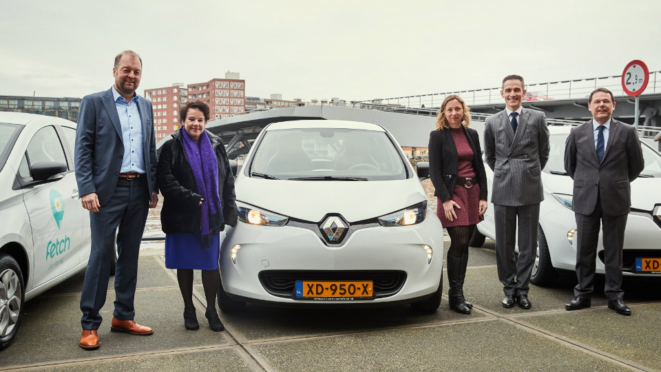 Fetch Car Sharing van start in Amsterdam