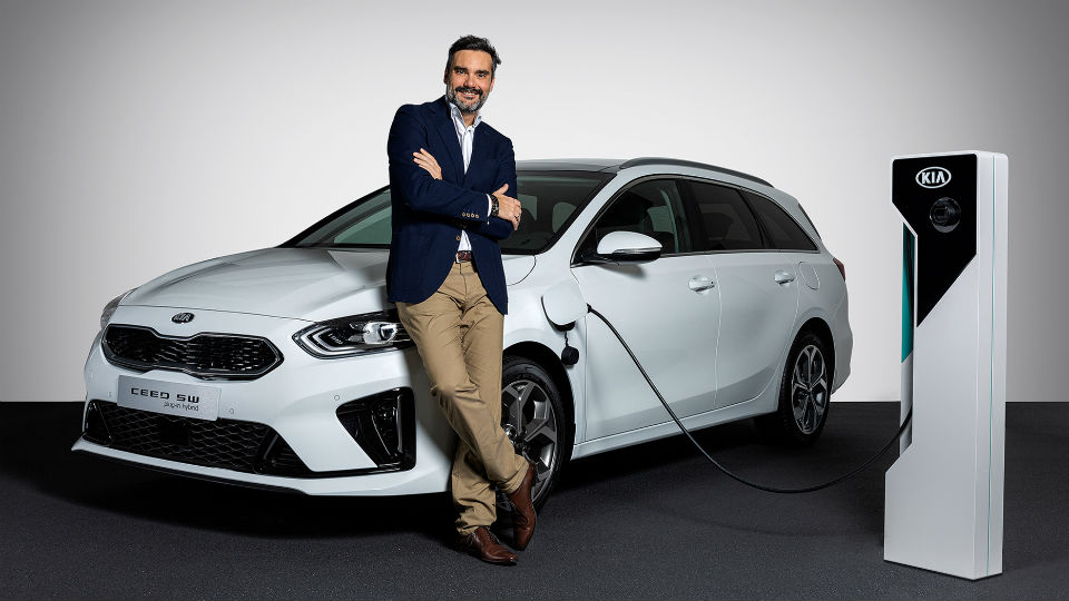 Carlos Lahoz nieuwe marketingdirecteur van Kia Motors Europe