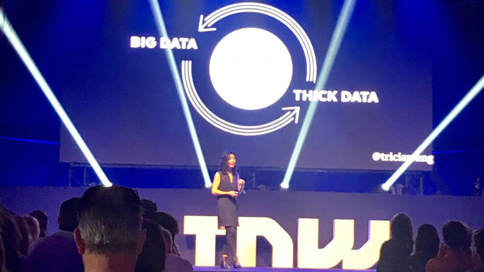 TNW 2018: van big naar thick data