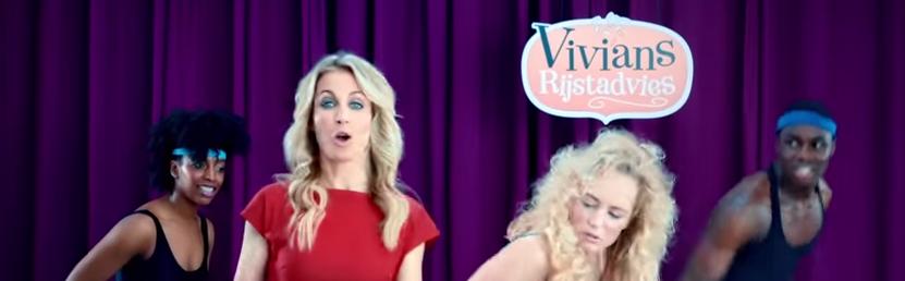 Aan het werk: Vivian maakt campagnes voor sociale media