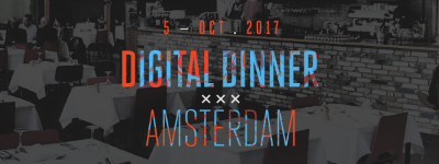 Thema, sprekers en locatie 6e editie Digital Dinner Amsterdam bekend