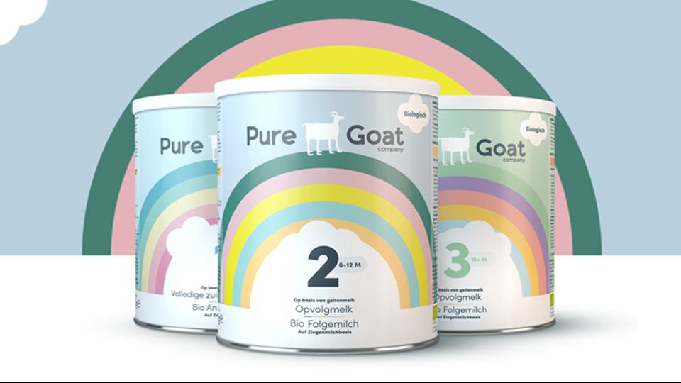 Pure Goat daagt babyvoedingsmarkt uit
