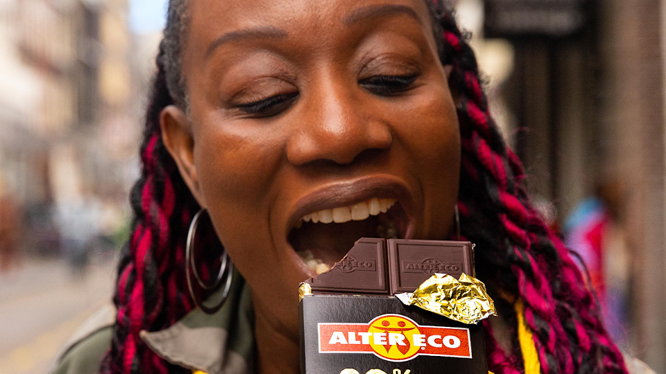 Alter Eco lanceert 'good chocolate for good people'-campagne