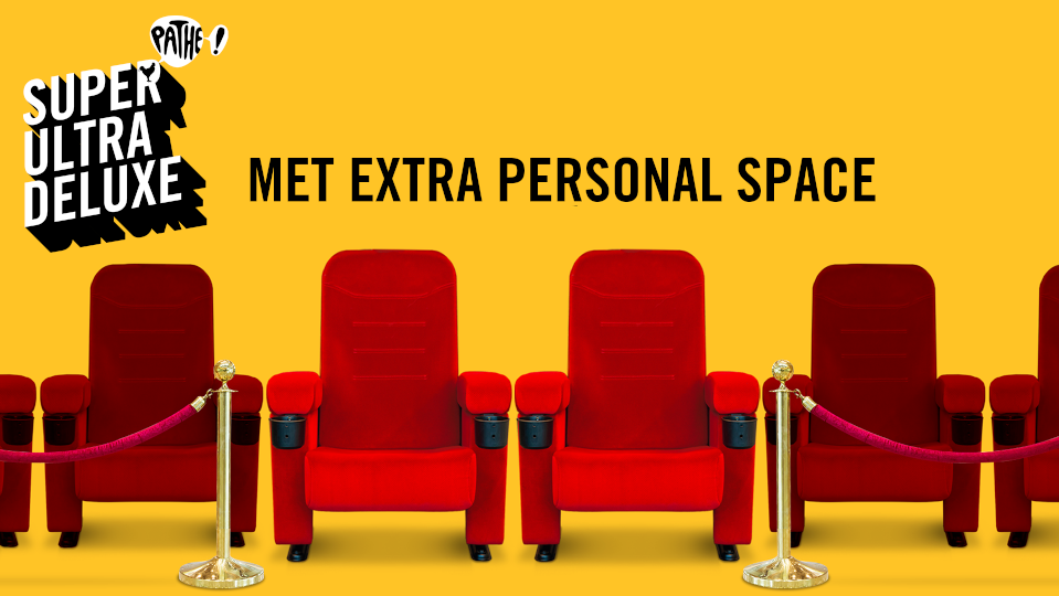 Pathé biedt extra 'personal space' in nieuwe campagne