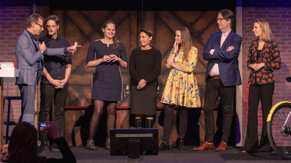 Mediahuis wint live pitch op Branded Content Event