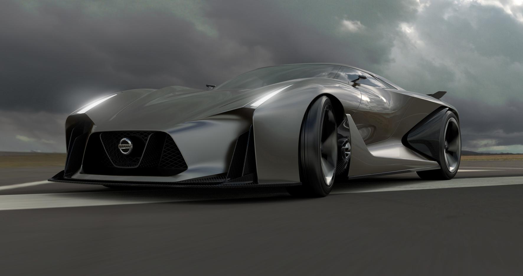 Nissan en Playstation onthullen 'auto van de toekomst ...