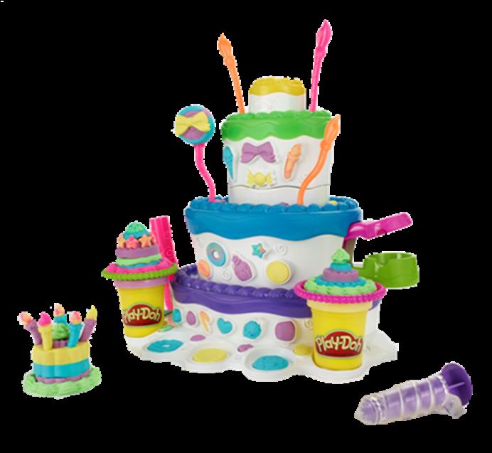 Cake Mountain Play Doh Toy