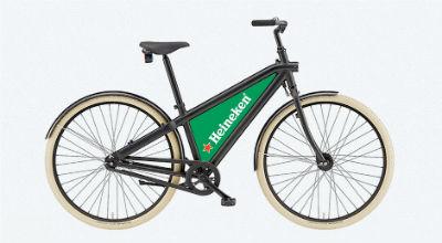 Gratis fiets met reclame