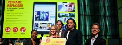 Vijf winnaars Refugee Challenge What Design Can Do