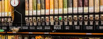 Verpakkingsvrije Supermarkt Bag Buy Vandaag Open