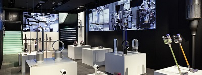 Dyson opent eerste beauty shop-in-shop in Nederland in Hudson's Bay