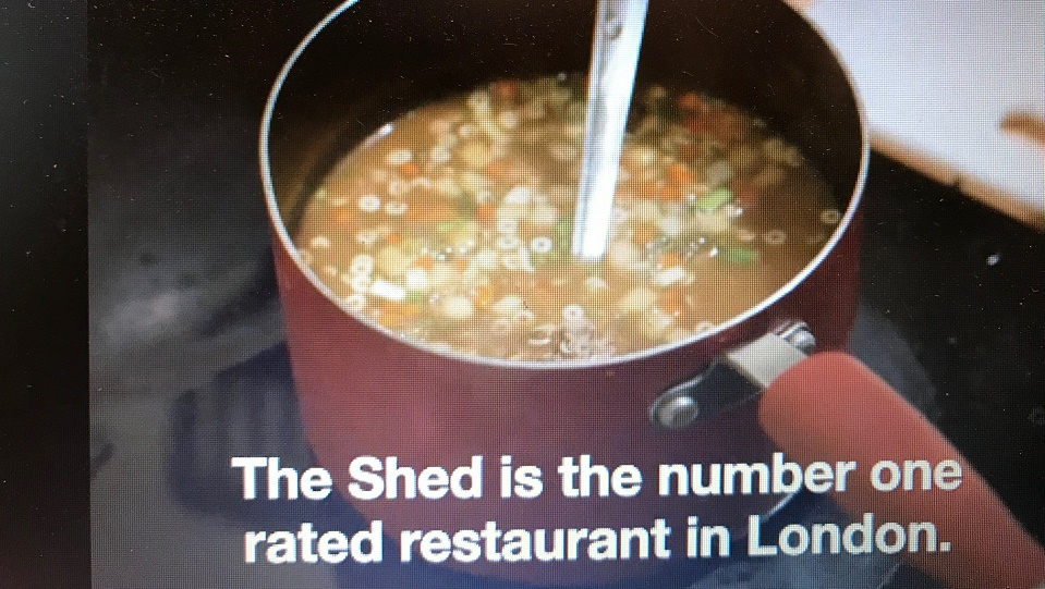 The Shed at Dulwich fopt TripAdvisor compleet met fake restaurant