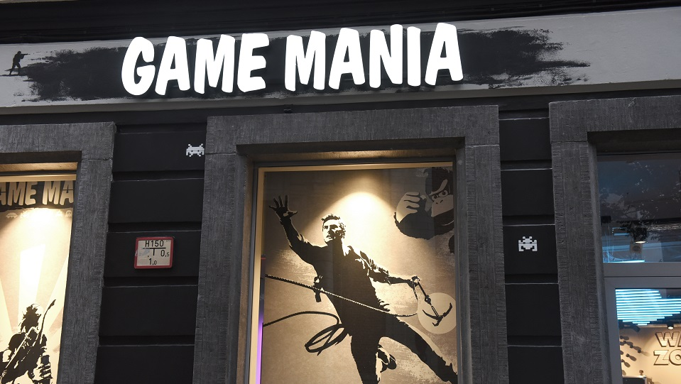 Game Mania opent concept store in Amsterdam