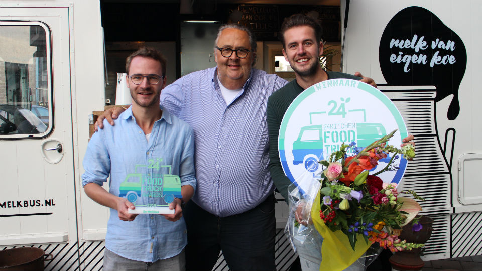 Melkbus wint 24Kitchen Food Truck Awards
