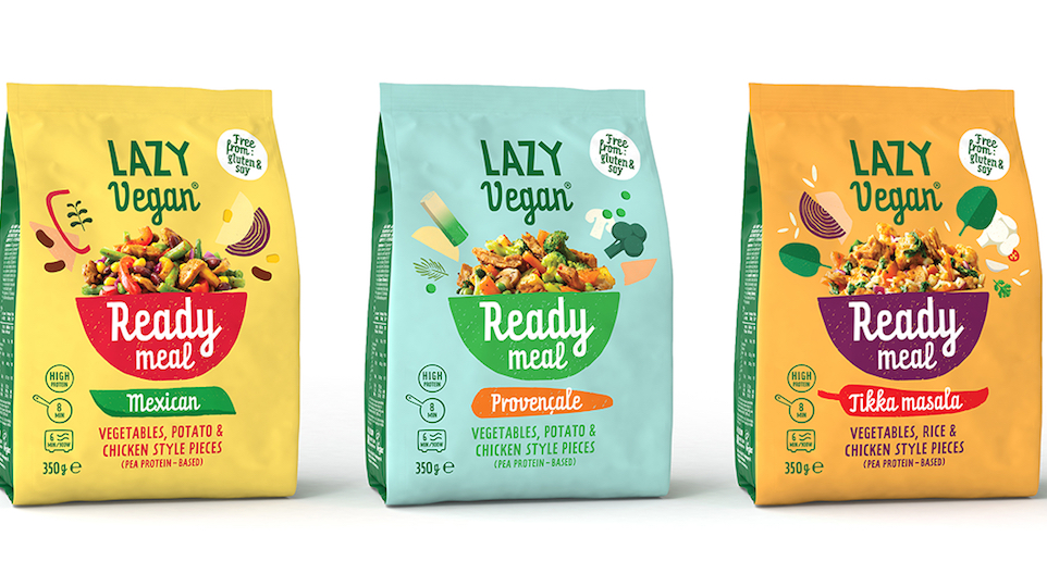 Amsterdamse start up introduceert Lazy Vegan