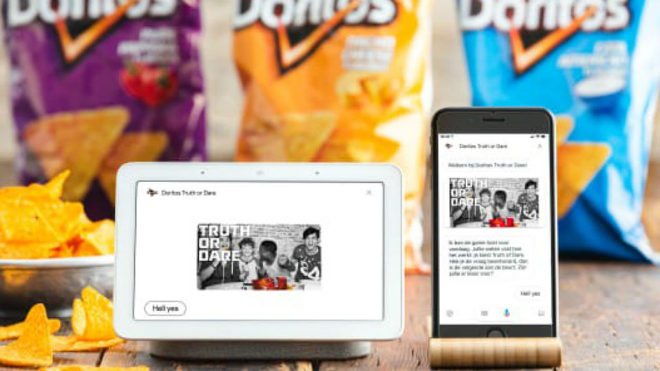 Game Doritos Truth or Dare voor Google Assistant