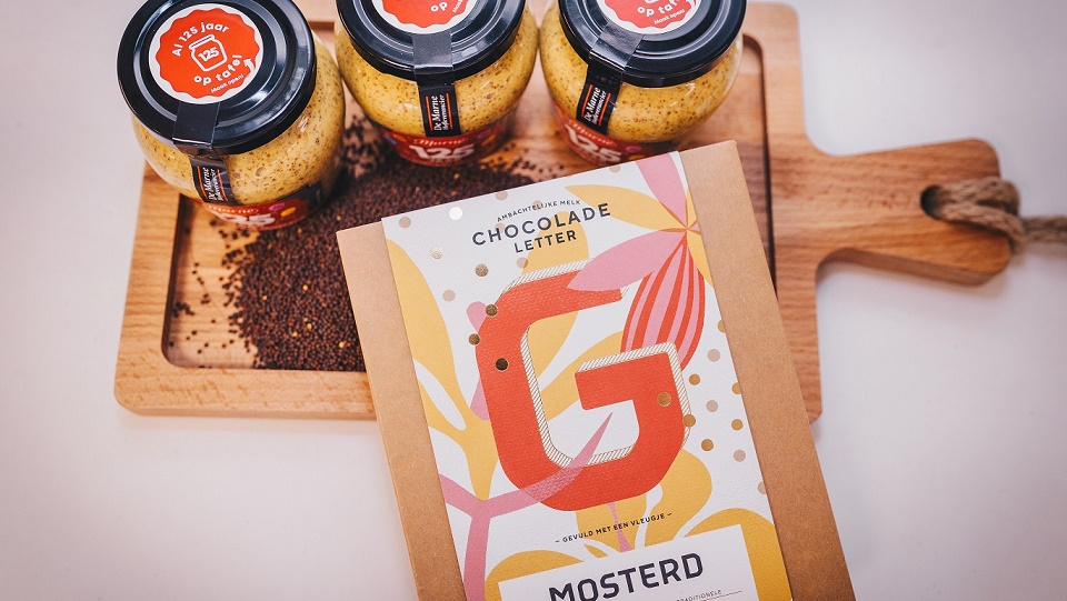 Limited edition chocoladeletters met typische Groningse smaken