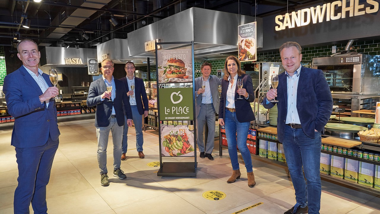 Jumbo en Vermaat: strategische partnership La Place