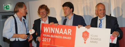Media Distillery wint Young Business Award