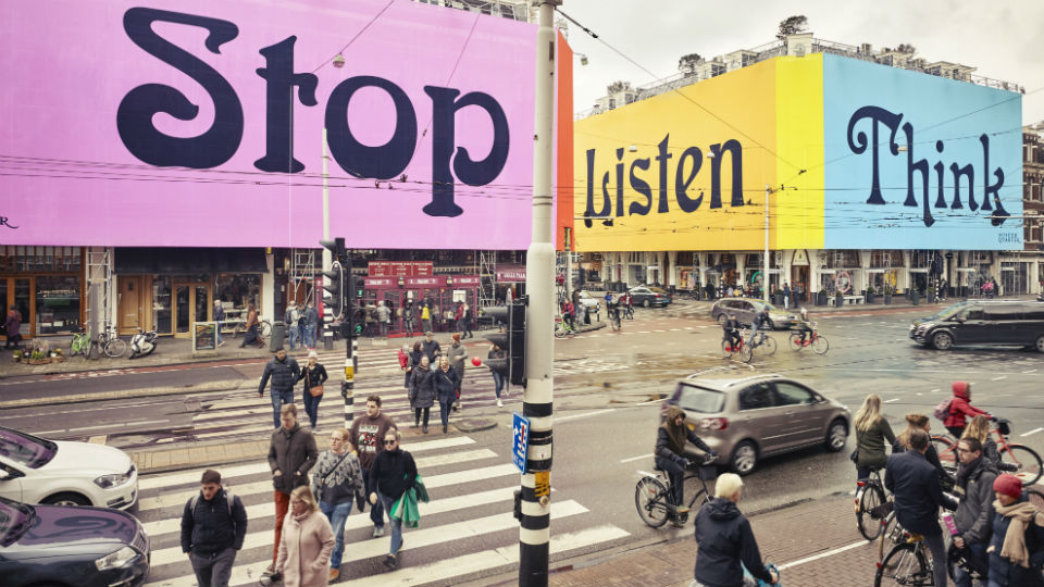Stone Twins ontwerpt outdoor-campagne Museum Quarter