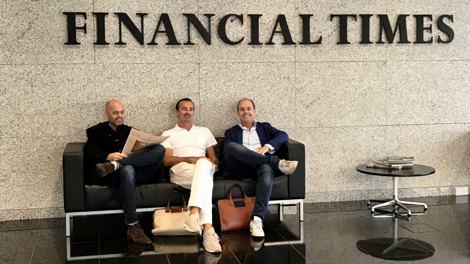 Financial Times neemt belang in The Next Web