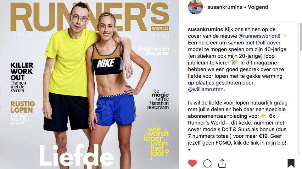 Runner World Zet Covermodel In Voor Abowerf Marketingtribune Media