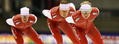 Odlo kledingpartner schaatsploeg Team Corendon