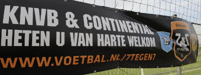 Continental wordt warming-up partner van de KNVB