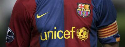 Fc Barcelona Verlengt En Verhoogt Sponsoring Unicef Marketingtribune Sponsoring