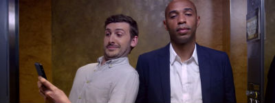 Thierry Henry ambassadeur Booking.com in sportzomer