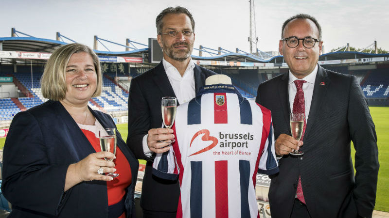 Brussels Airport shirtsponsor van Willem II