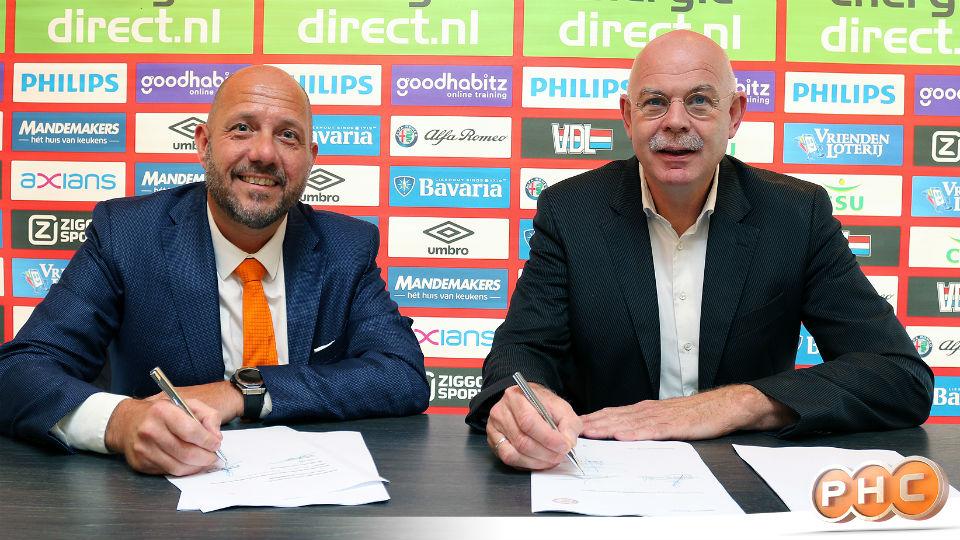 PHC verlengt drie jaar met PSV   MarketingTribune Sponsoring