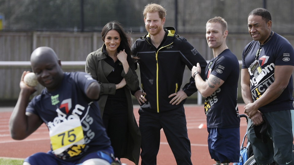 Superdry official supporter van Invictus Games