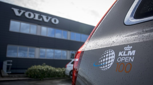 Volvo is auto-partner van KLM Open