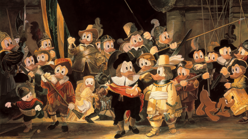 Mercurs bekronen partnership Donald Duck met Rijksmuseum